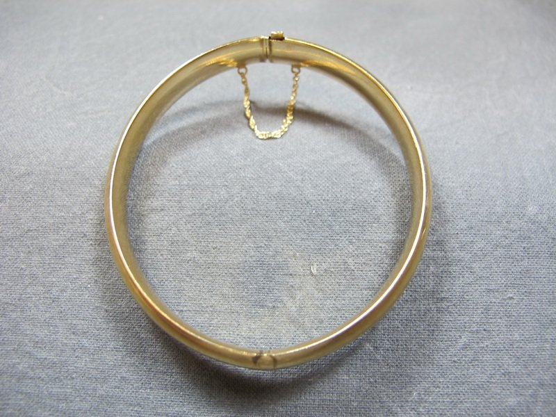 Bracelet, 14 k yellow gold, 10 grams