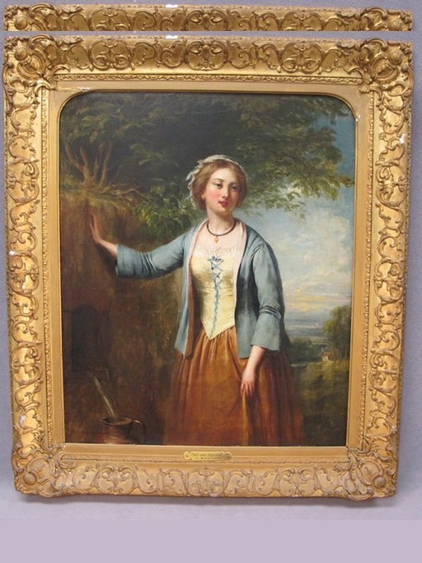 Charles BAXTER (1809-1879) painting