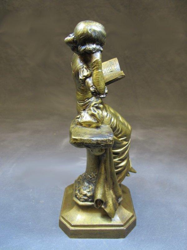 Pablo RIGUAL (XIX-XX) bronze statue - 5