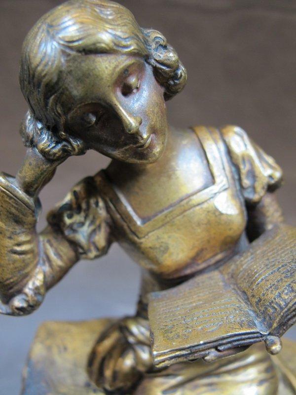 Pablo RIGUAL (XIX-XX) bronze statue - 6