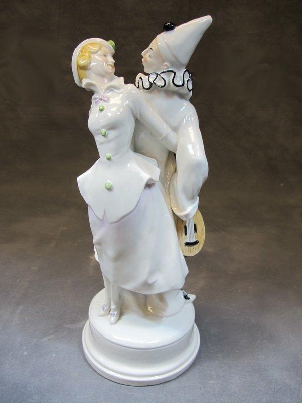 Schwarzburger Unterweissbach, Pierrot and lady by Hugo