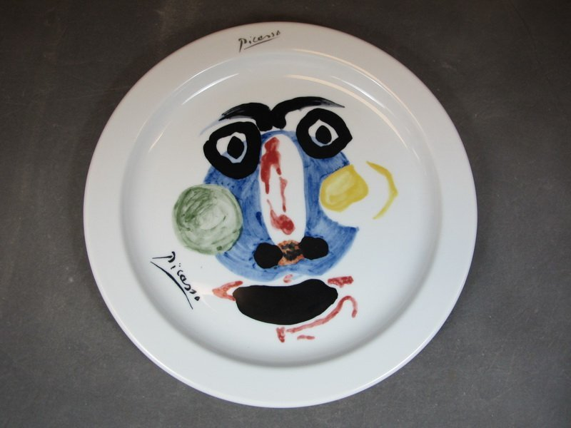 """Pablo Picasso """"Face 1963"""" pitcher and Victoria plate - 2"""