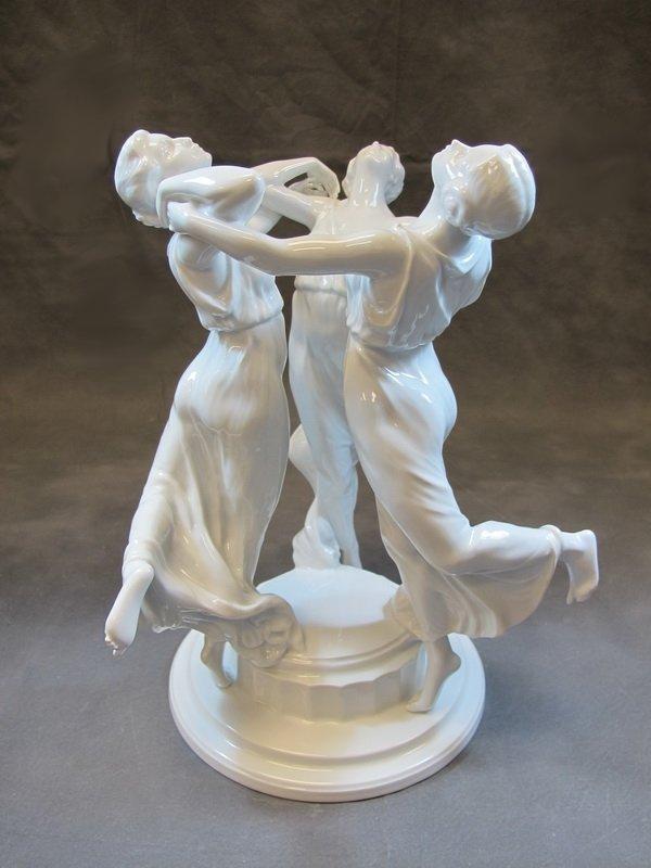 Antique Rosenthal Statue K Himmelstoss