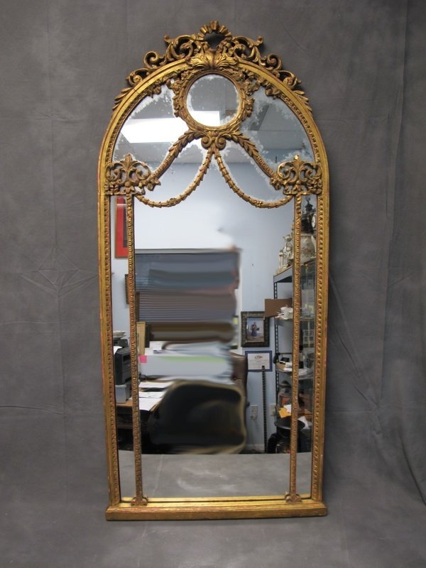 Old French gilt mirror