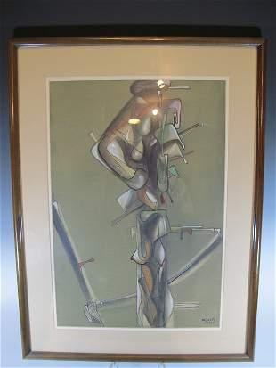 José María MIJARES FERNÁNDEZ (1921-2004) Cuban artist