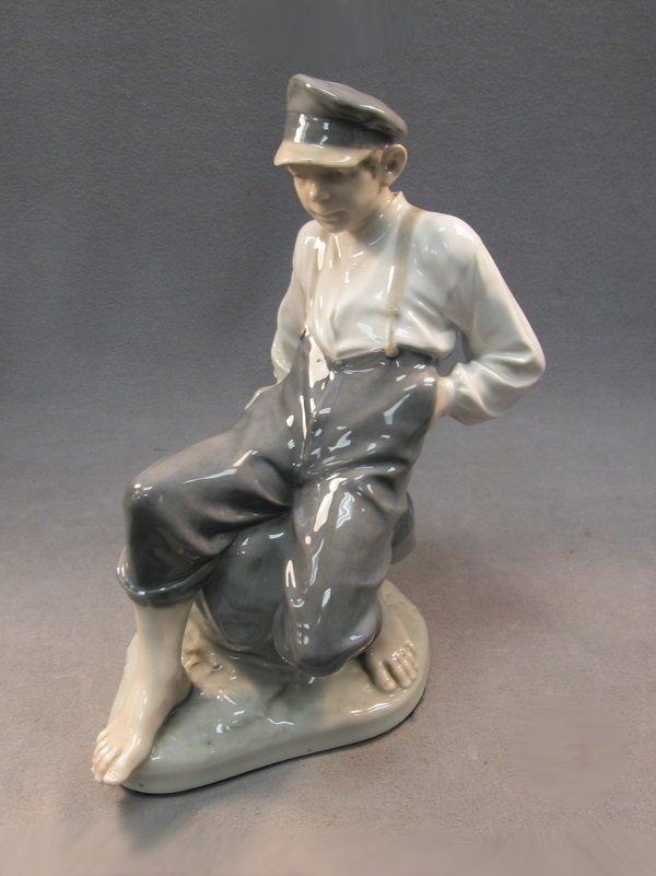 Antique Royal Copenhagen statue