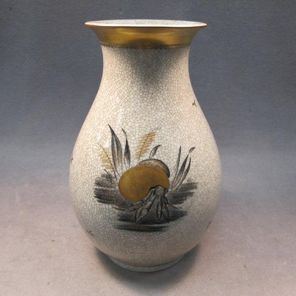 Royal Copenhagen ceramic vase
