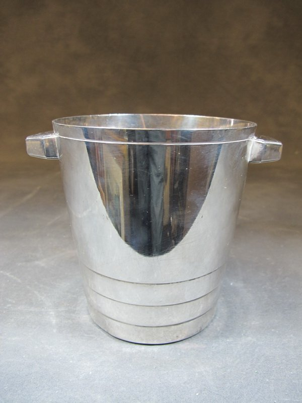 Antique French Gallia silverplate bucket
