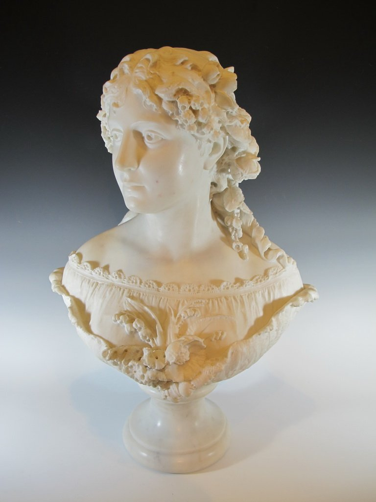 Antique Italian marble bust