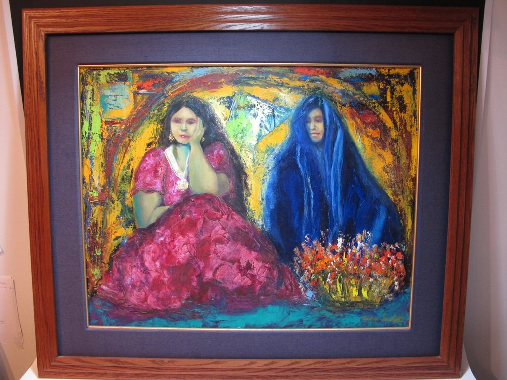 Mildrey GUILLOT, Cuban artist painting