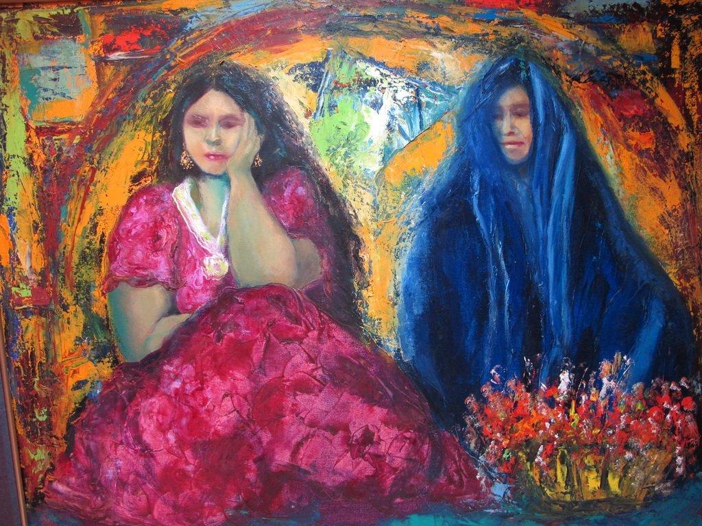 Mildrey GUILLOT, Cuban artist painting - 2