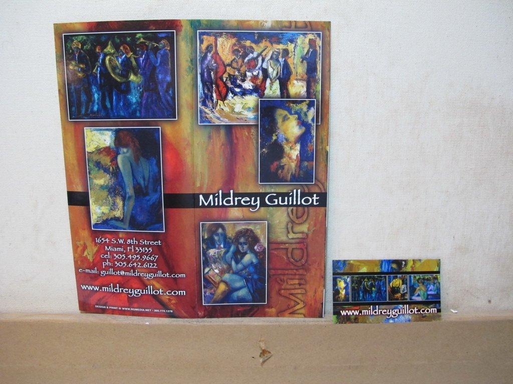 Mildrey GUILLOT, Cuban artist painting - 9