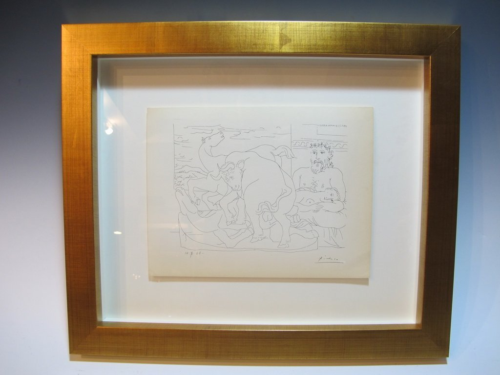 Pablo PICASSO certificated lithograph