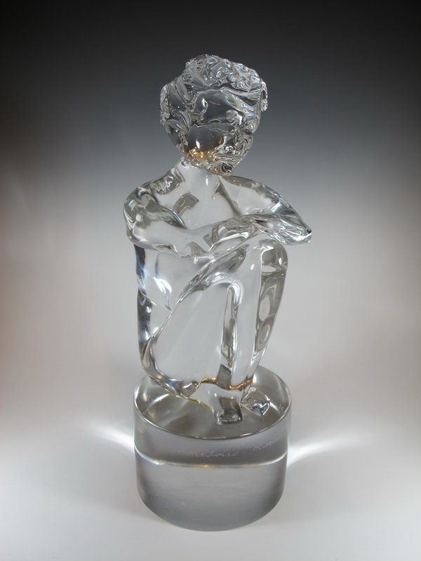 Loredano ROSIN (?-1991) glass sculpture
