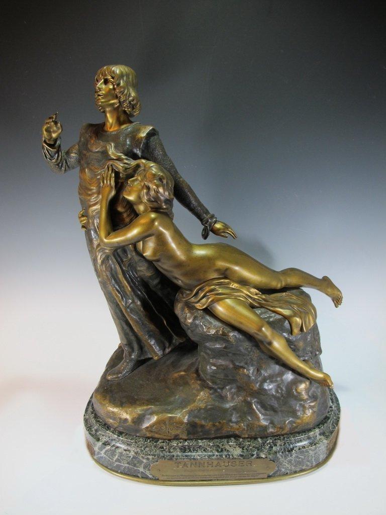 Louis CHALON (1866-1940) bronze statue