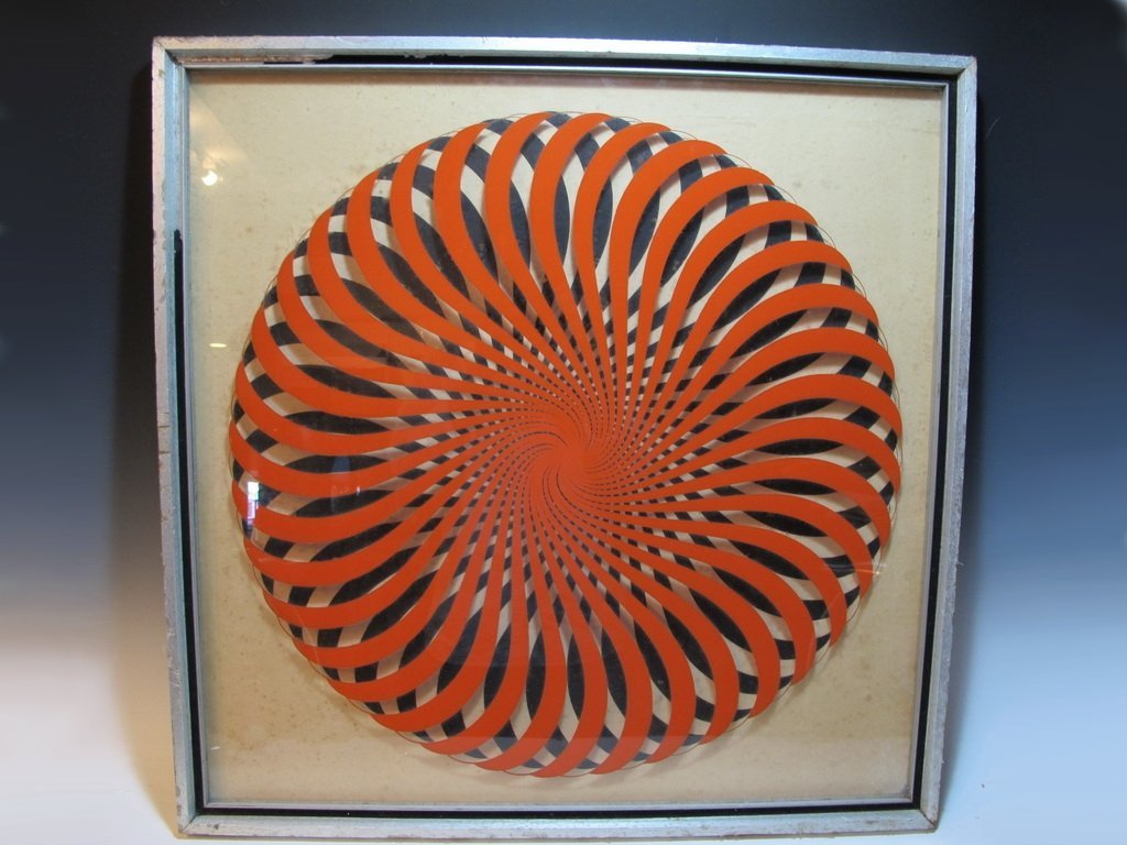 Victor VASARELY (1906-1997) Hungarian artist, 3 D work