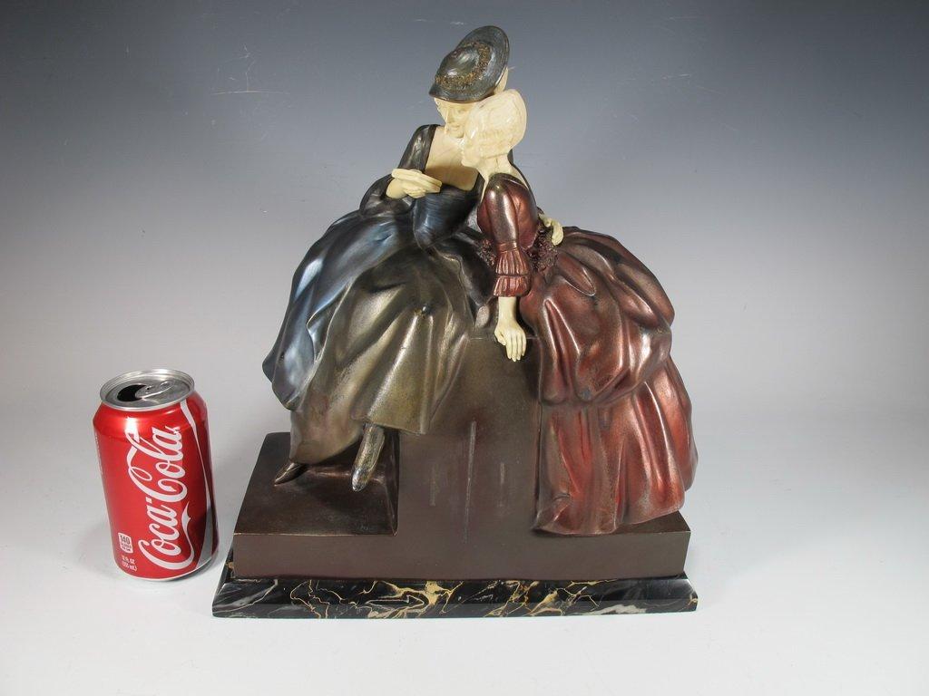 Dimitri CHIPARUS (1886-1947) bronze sculpture