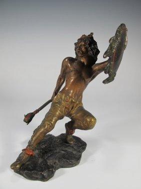 Franz Bergman (1838-1894) Vienna Bronze Statue