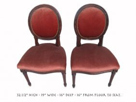 Pair Of Antique French Louis Xvi Style Chairs