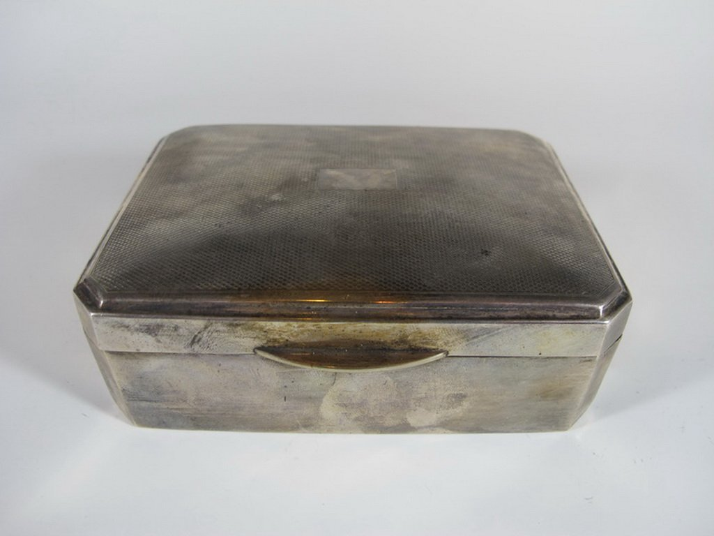 Antique Argentinian sterling 925 cigar box