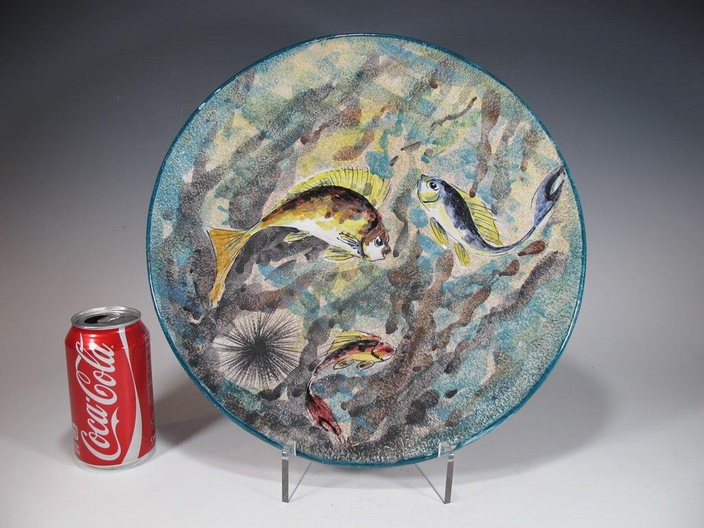 Antique Italian San Giorgio ceramic plate