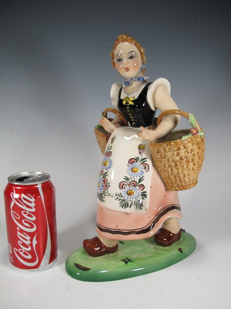 Italian Trevir ceramic statue