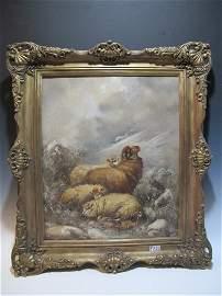 Joseph VAN DIEGHEM (1843-1885) (Attrib) Belgian artist