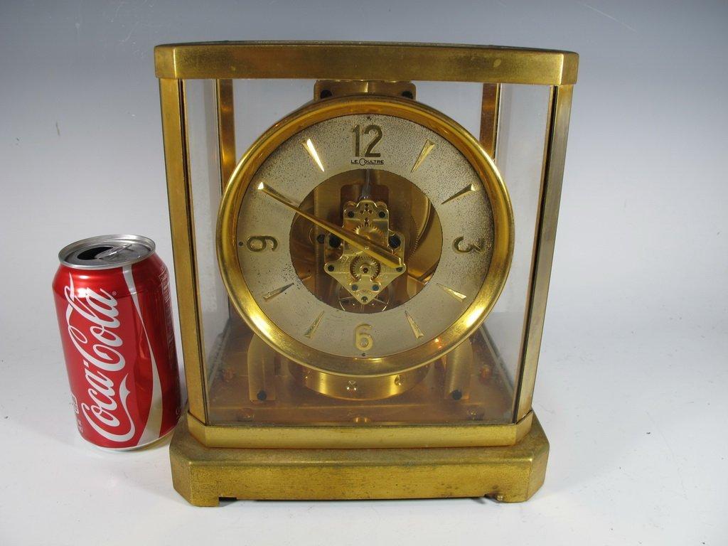 Swiss Jaegar Le Coultre Atmos Brass Mantel Clock