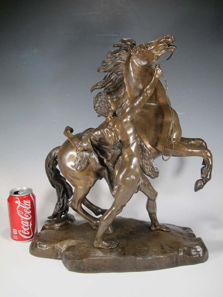 After Guillame Coustou, Marly Horse Bronze 19th C