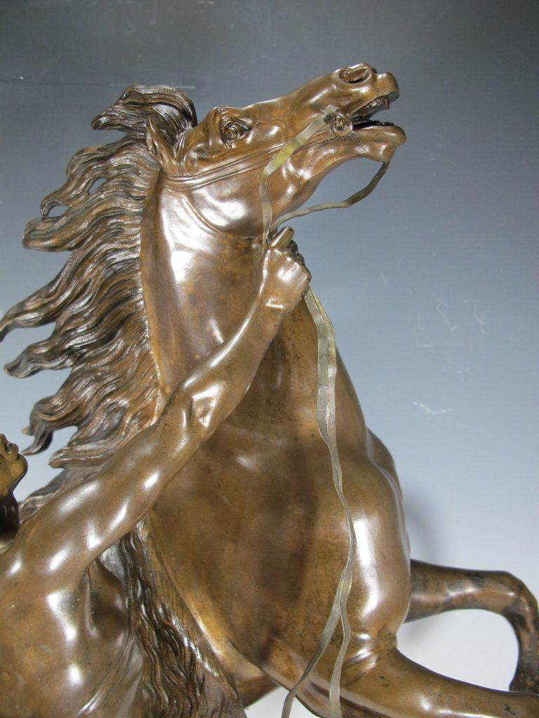After Guillame Coustou, Marly Horse Bronze 19th C - 2