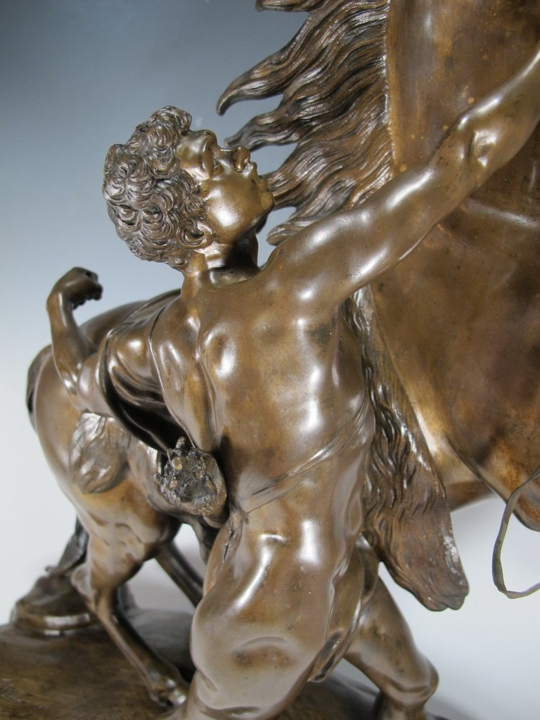 After Guillame Coustou, Marly Horse Bronze 19th C - 3