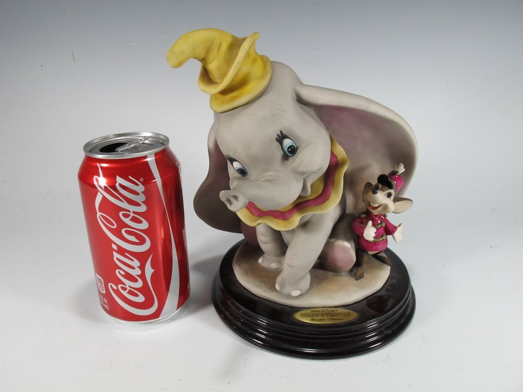 Dumbo & Timothy, Giuseppe Armani 2000 Disney figurine