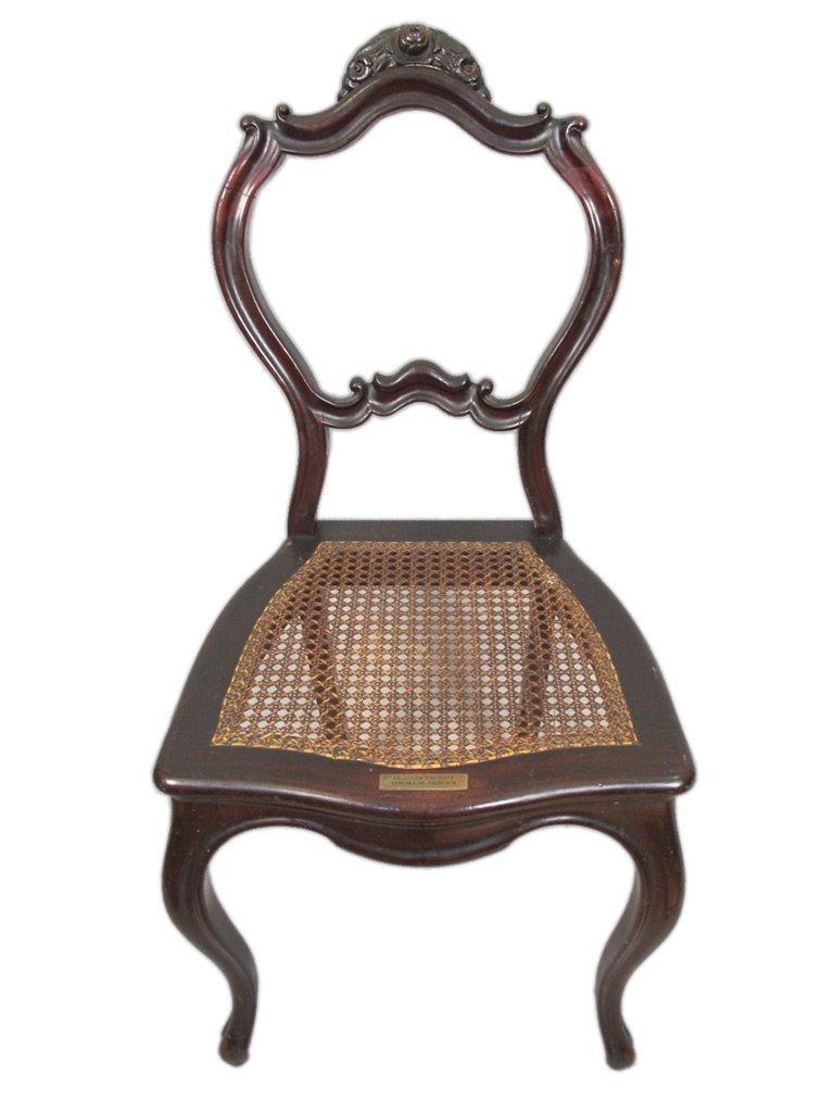 Mariquita Sanchez de Thompson antique pair of chairs - 2