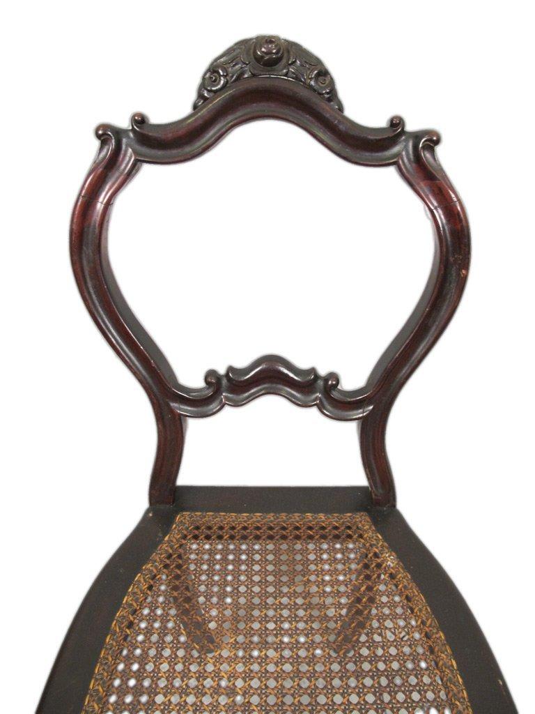 Mariquita Sanchez de Thompson antique pair of chairs - 3