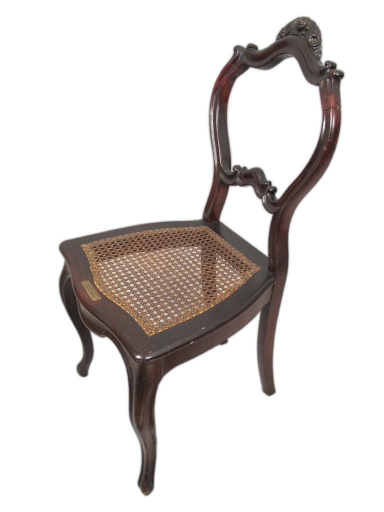 Mariquita Sanchez de Thompson antique pair of chairs - 6