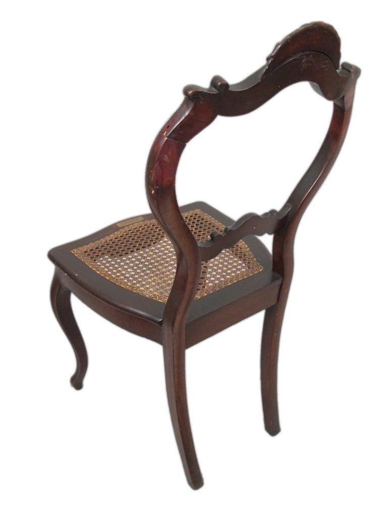 Mariquita Sanchez de Thompson antique pair of chairs - 7