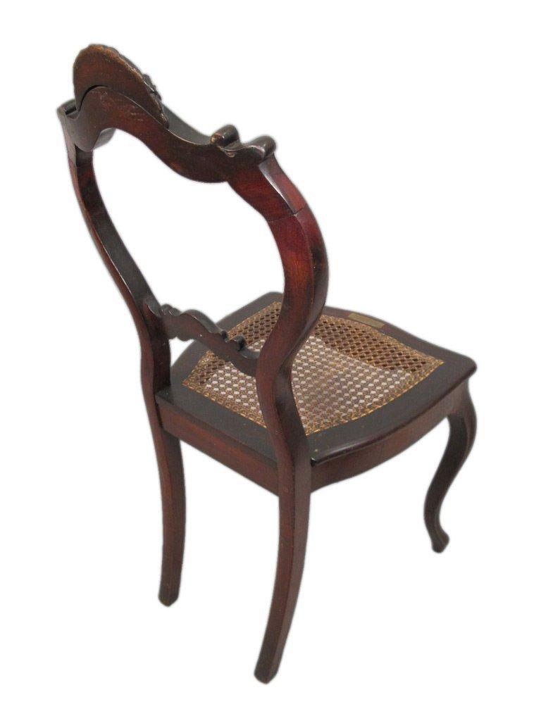 Mariquita Sanchez de Thompson antique pair of chairs - 8