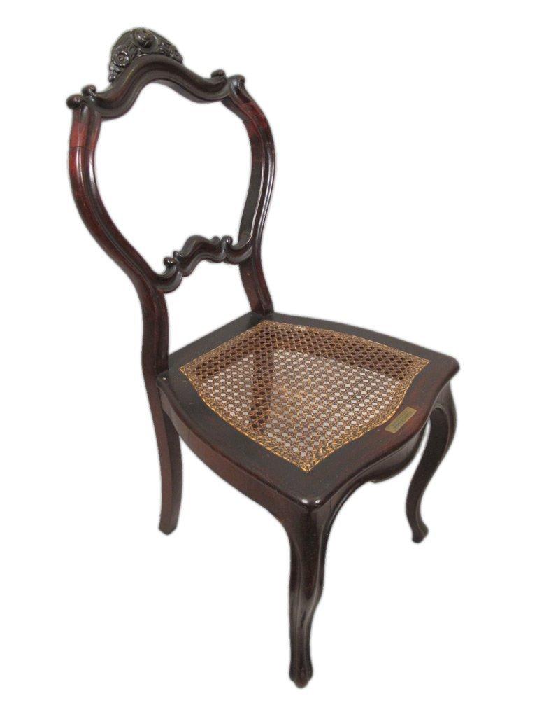 Mariquita Sanchez de Thompson antique pair of chairs - 9
