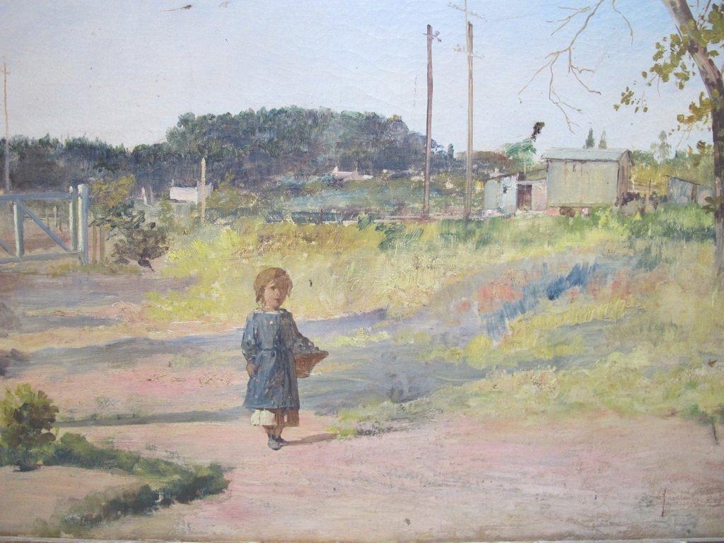 19th C. Italian oil on canvas painting - 2