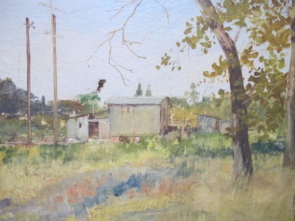 19th C. Italian oil on canvas painting - 3