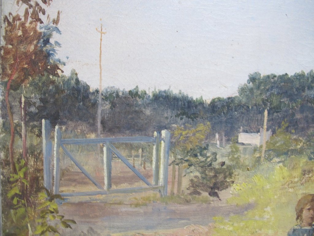 19th C. Italian oil on canvas painting - 4