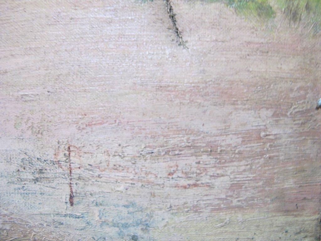 19th C. Italian oil on canvas painting - 5