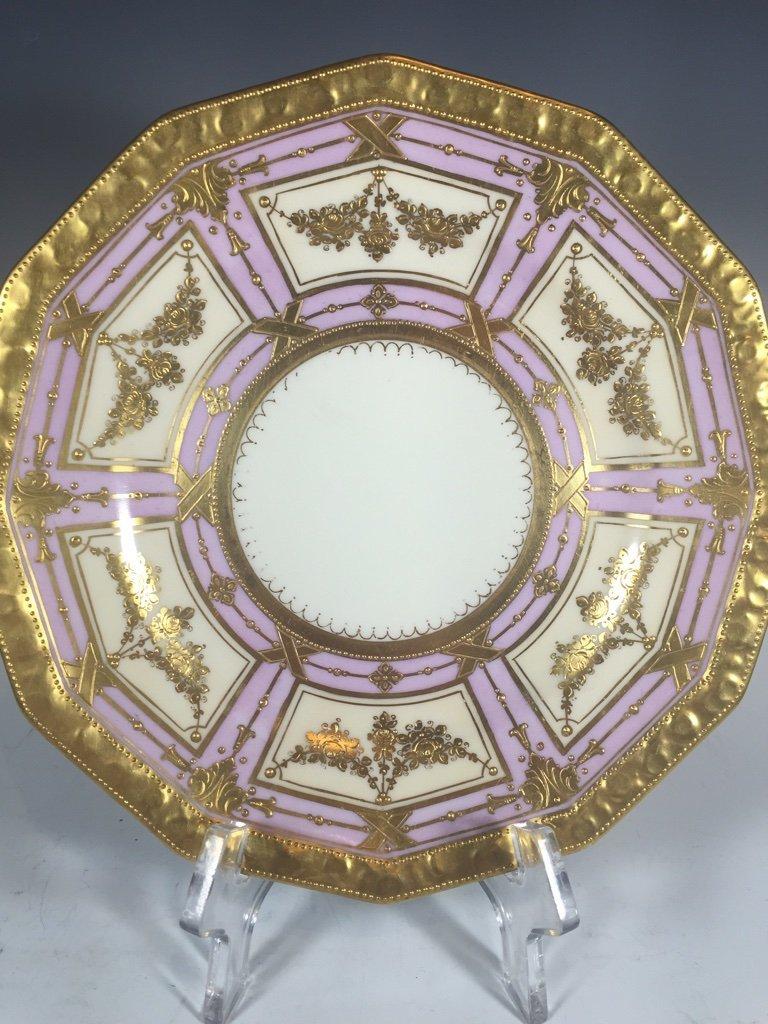 Antique German Dresden 3 porcelain set - 3