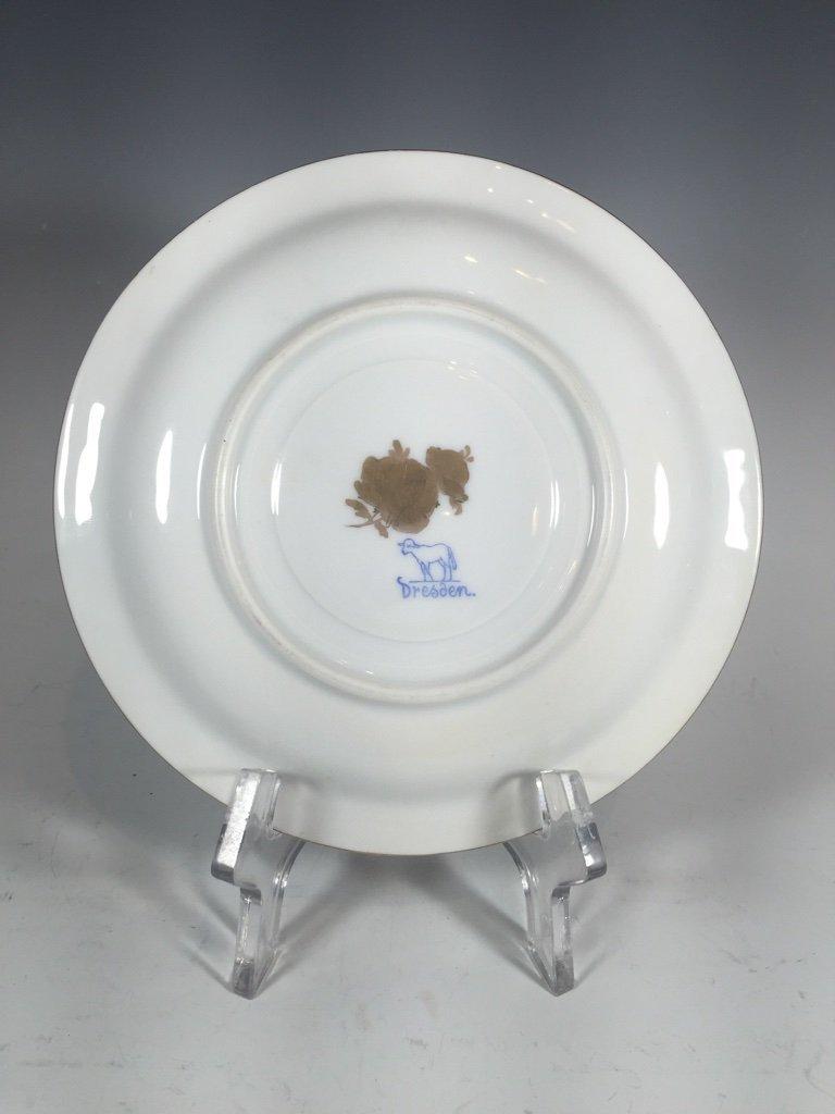 Antique German Dresden 3 porcelain set - 7