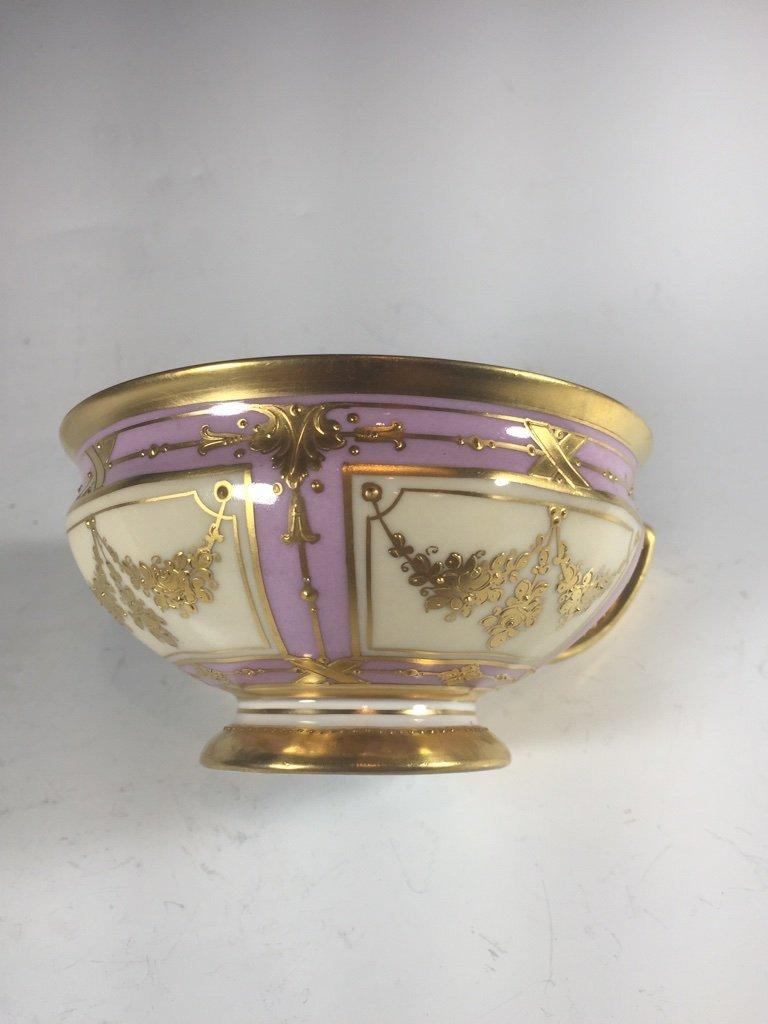Antique German Dresden 3 porcelain set - 9