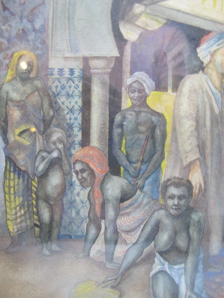 Antique Orientalist watercolor, M. Delgado VILLALONGO - 3