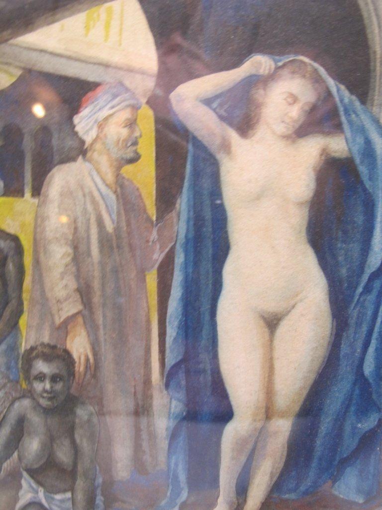 Antique Orientalist watercolor, M. Delgado VILLALONGO - 4