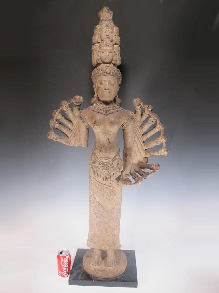Huge Thai Terracotta sculpture