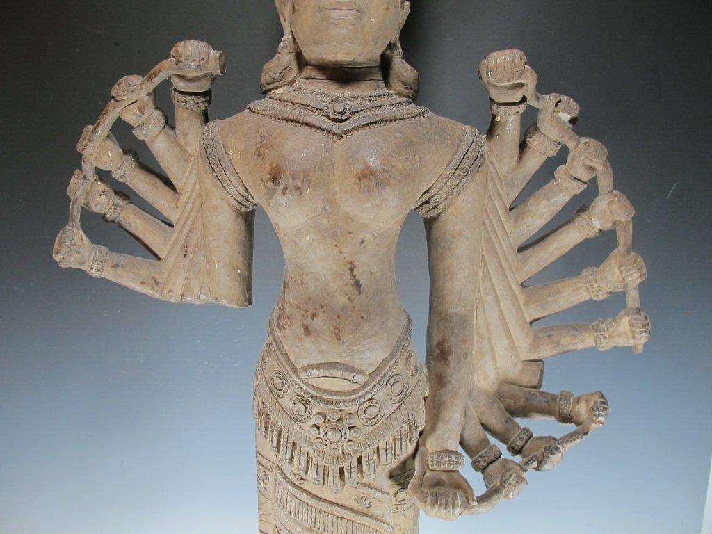 Huge Thai Terracotta sculpture - 3