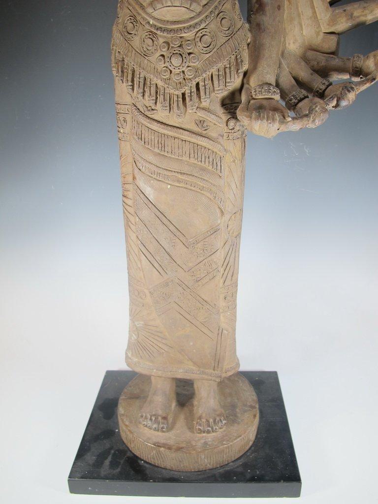 Huge Thai Terracotta sculpture - 4